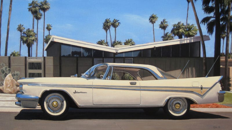 The Most Beautiful '50s And '60s American Car Paintings
