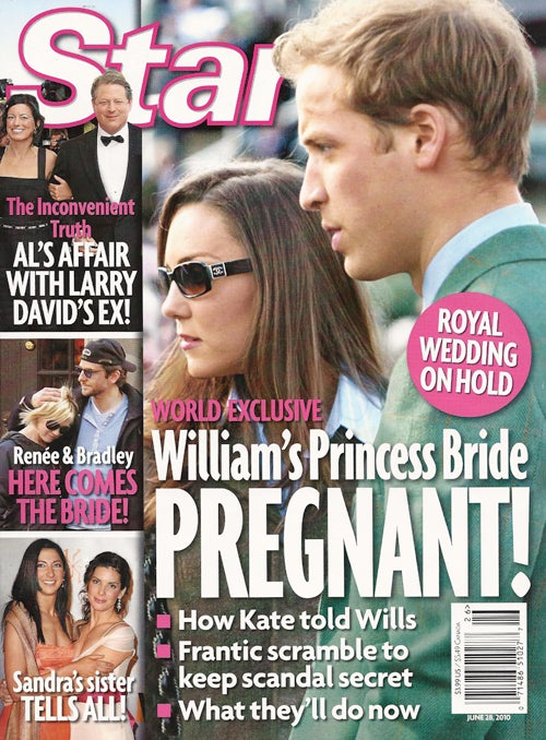 This Week In Tabloids: Possibly Pregnant Princess Bride & January's Affair With Bobby Flay