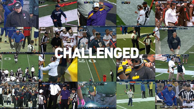 Which NFL Coach Has The Funniest Challenge-Flag-Throwing Motion?