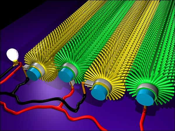 Nanowires Could Turn Your T-Shirts Into Nano-Power Stations