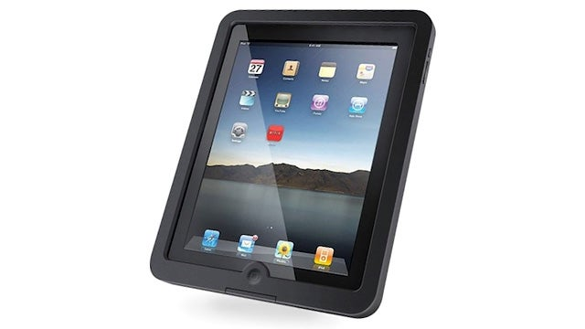 Would You Trust a Waterproof iPad Case That Doesn't Protect the Display?