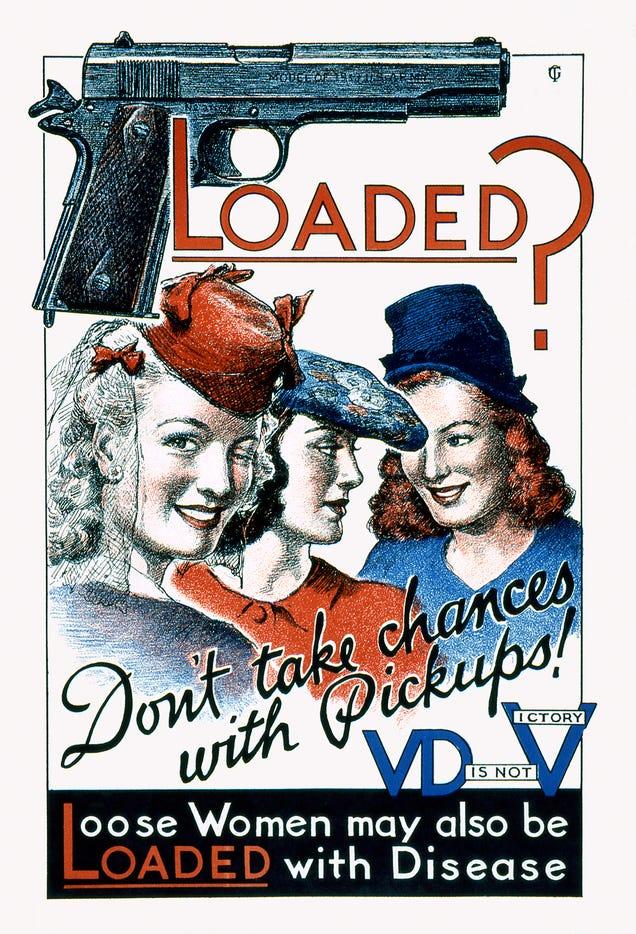 The Penis Propaganda That Warned WWII-Era Soldiers of Venereal Disease