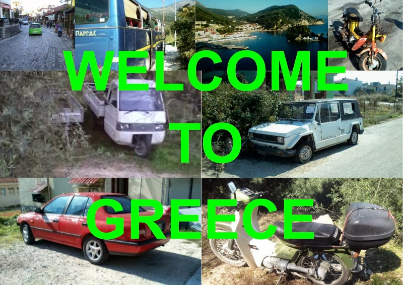 Motoring Through an Economic Crisis - The Cars Of Greece