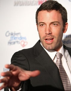 Ben Affleck Has BFF In Congress