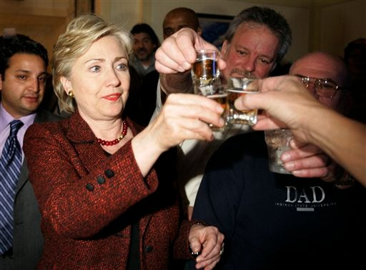 Hot Hillary Clinton Party Photos!