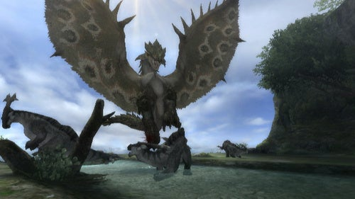 Here's What Monster Hunter Tri Looks Like