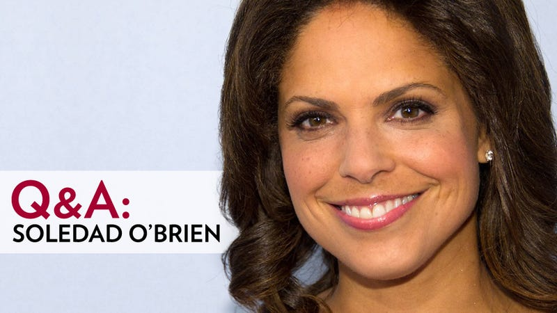 Stop the Presses! CNN Anchor Soledad O'Brien Is Here to Answer Your Questions