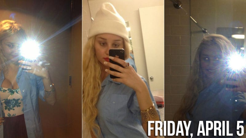 Amanda Bynes Informs Twitter That She Has An Eating Disorder