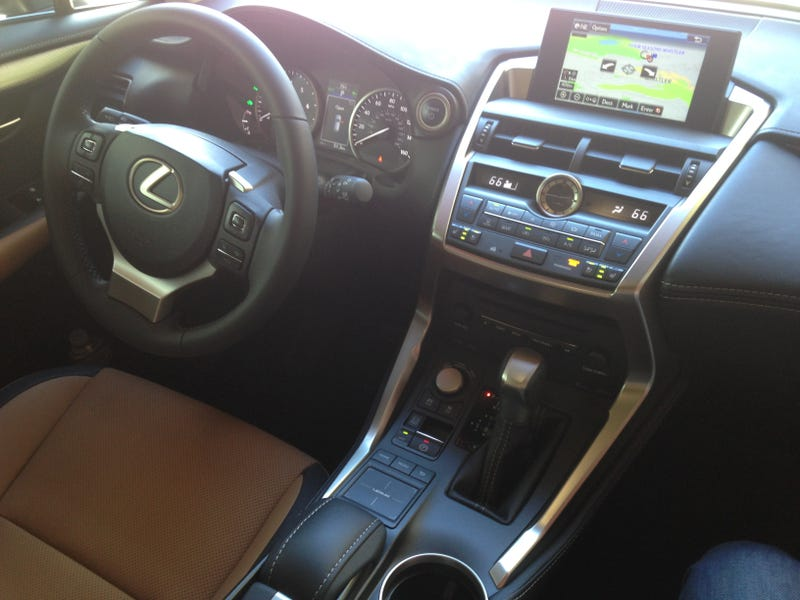 2015 Lexus NX Has A Fake Engine Noise Volume Knob, Best Enjoyed 'Off'
