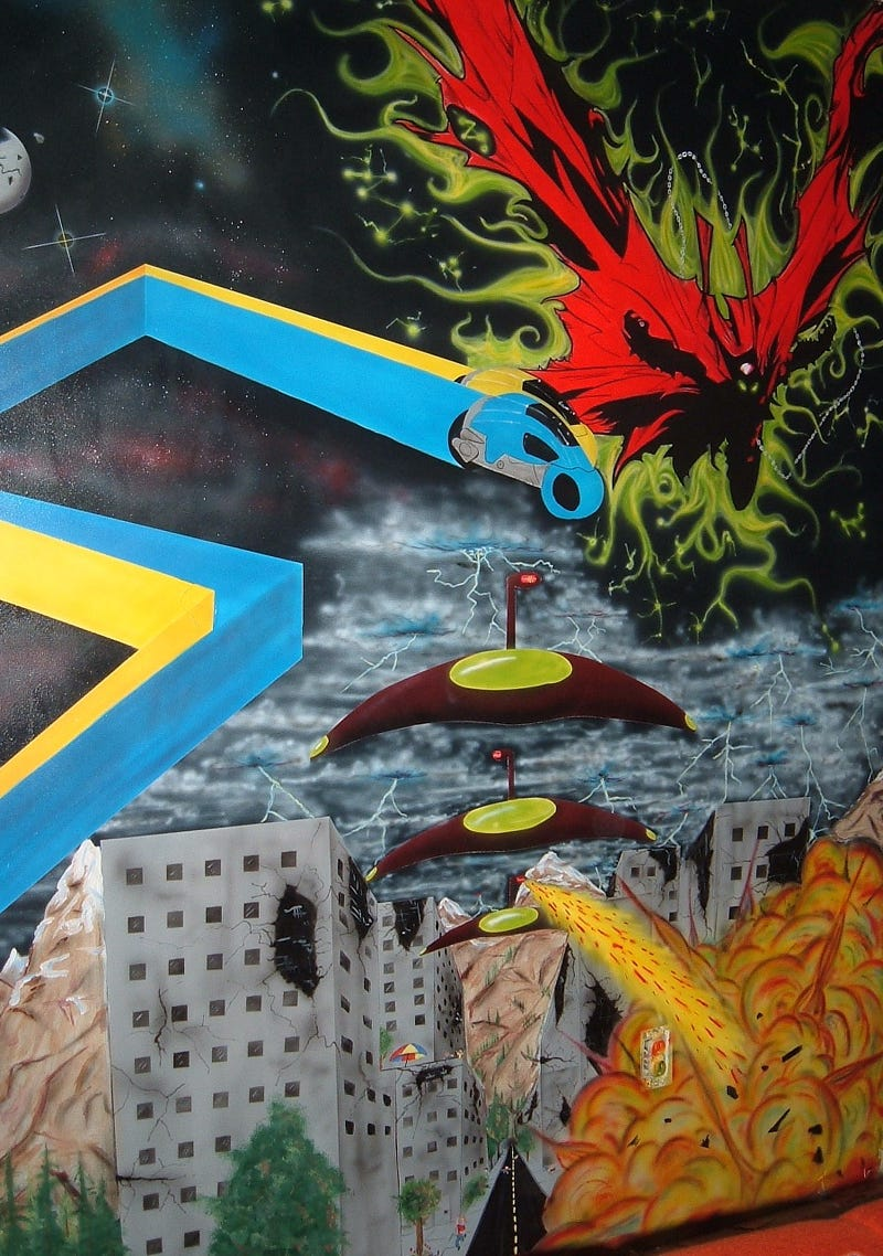 Walls of Wonder: Amazing Science Fiction and Fantasy-Themed Murals