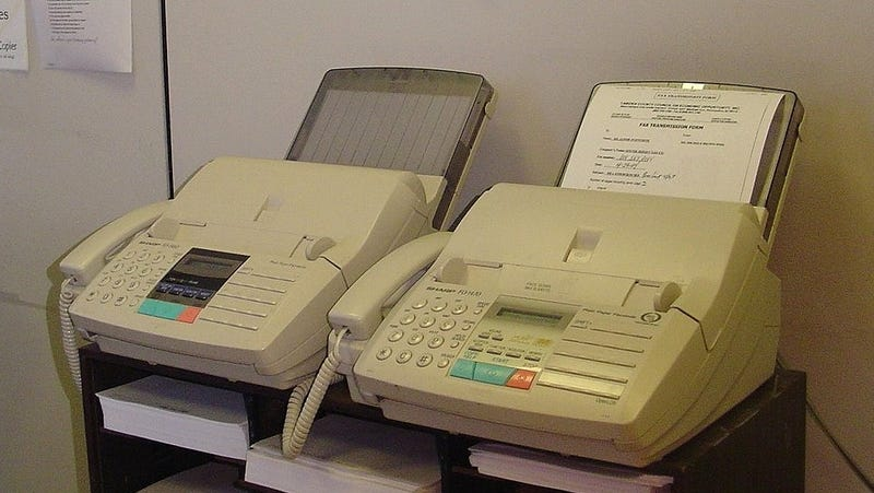 Fax Machine Follies On Signing Day