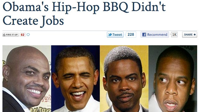 Did You Know That Obama Hosted a 'Hip Hop BBQ' Yesterday?