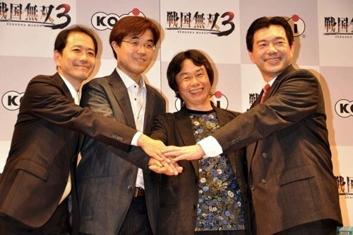 What's Nintendo's Shigeru Miyamoto Doing At Koei Press Conference?
