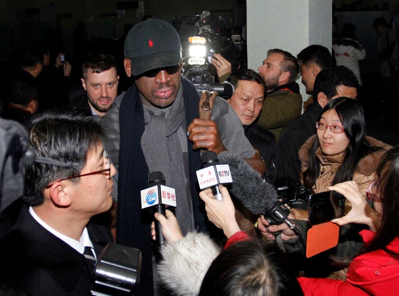 10 Absolutely Unbelievable Images from Dennis Rodman's Vice-Sponsored Trip to North Korea