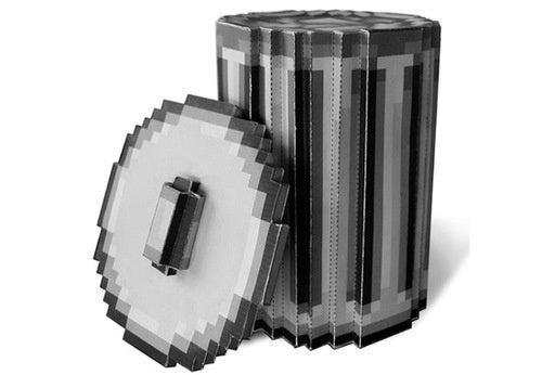 Classic Mac Paper Trashcan for Trash, Cans, Paper