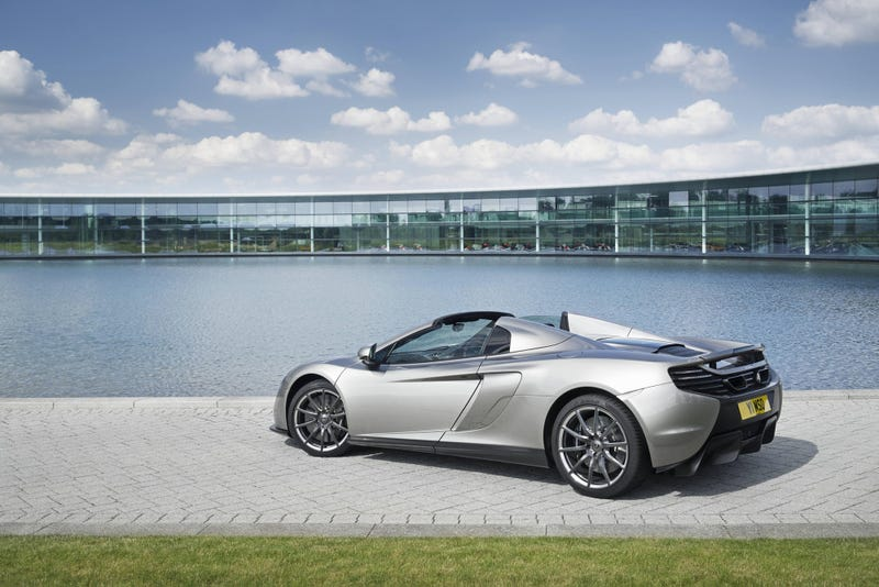 The McLaren MSO 650S Spider Is Way More Special Than Your McLaren