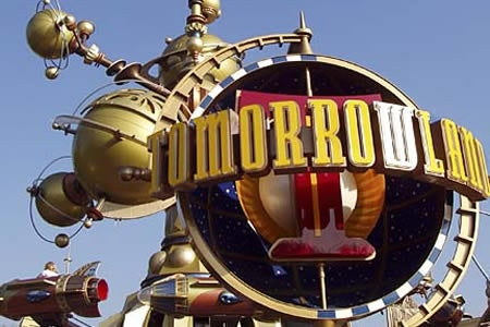 Tomorrowland Treads On Buck Rogers' Moonboots
