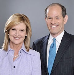 CNN Pairs Eliot Spitzer, Kathleen Parker for Debate Show