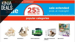 Save 25% on Basically Everything at Petco, Today Only