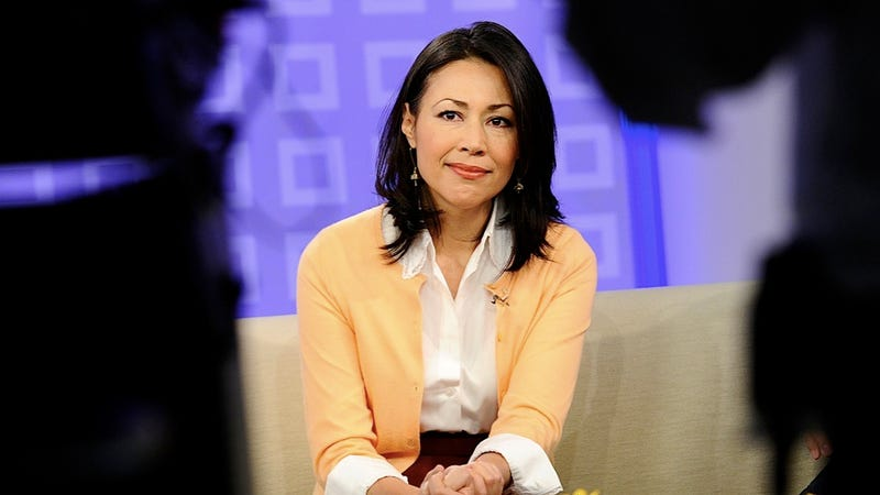 Ann Curry Thinks She May Have Been Fired for Trying to 'Perk Up America' with a Polychromatic Dress