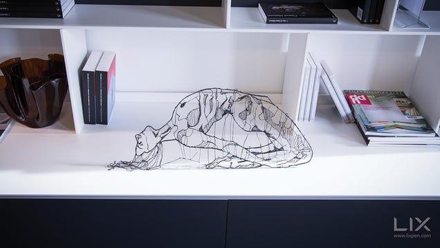 Lix, un bolígrafo 3D que permite dibujar objetos reales en el aire