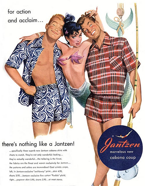 The Reality Behind Mad Men's Vintage Jantzen Swimsuit Ads