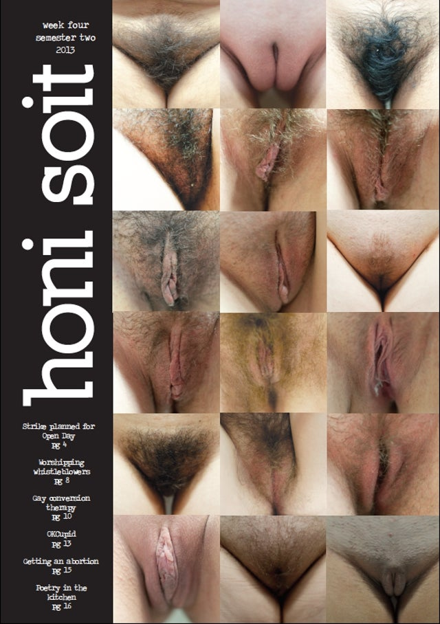 Student Newspaper Censored for Featuring Coed Vulvae on Cover [NSFW]