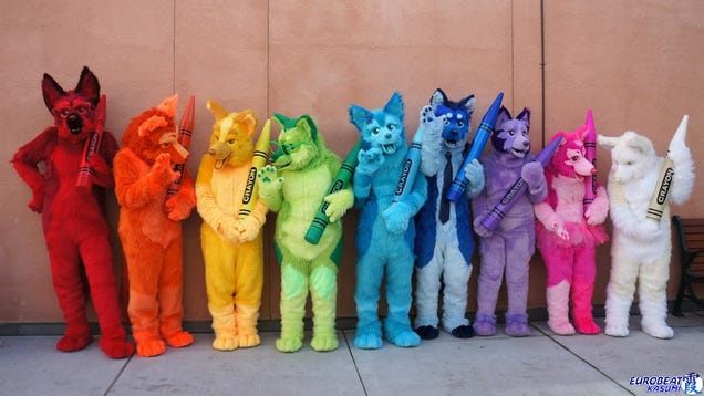 My Weekend At A Furry Convention