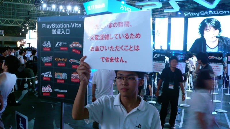 The PlayStation Vita is too Popular for TGS