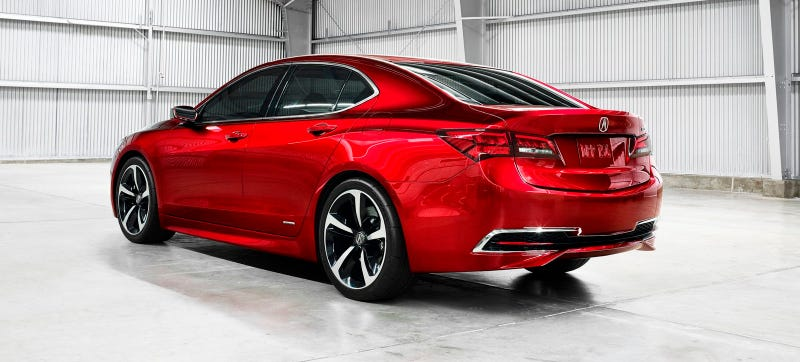 2015 Acura TLX Is Not For Pussies, Acura Marketing Department Says