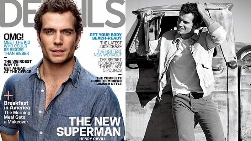 Formerly 'Fat' Henry Cavill Talks Weight Loss, Leaves Shirt On