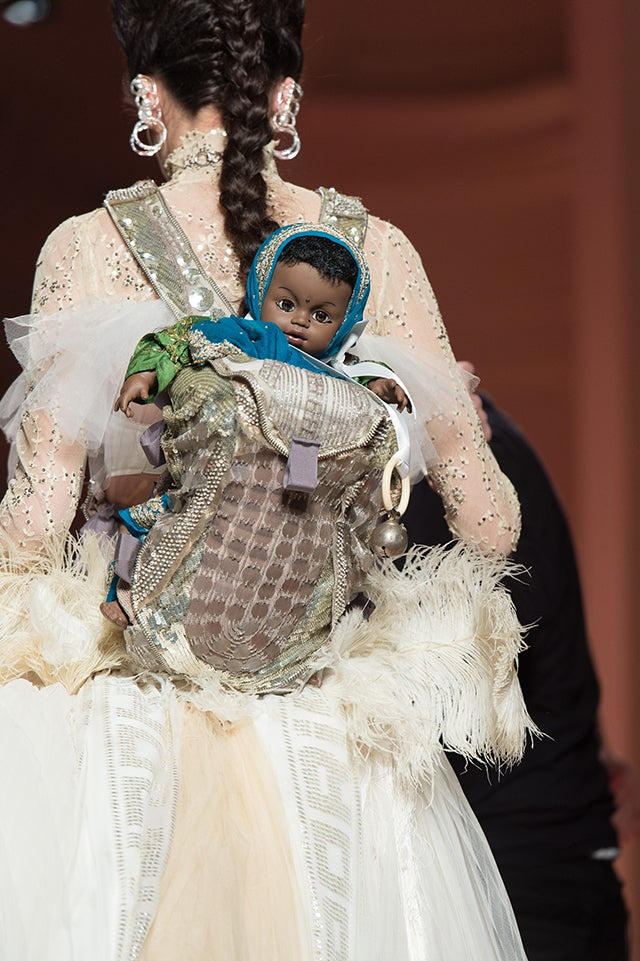 There's a Surprise Inside This Gaultier Haute Couture Gown