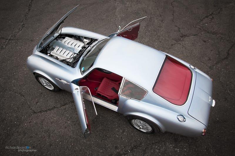 Sweet Jesus, That's A Carbon Aston Martin DB4 Zagato