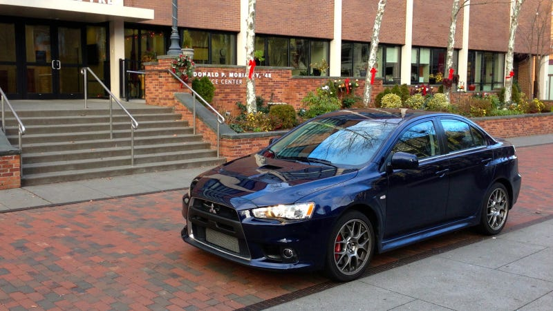 2013 Mitsubishi Lancer Evolution X MR: The Jalopnik Review