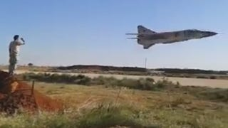 Libya May Be A Mess But Their MiG-23 Pilots Seem To Be Having A Ball