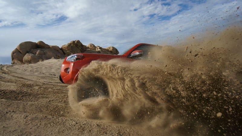 The First Desert Shakedown Of All Three TRD Pro Trucks