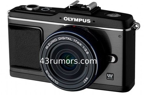 All Black Olympus E-P2, E-5 DSLR, and New Lenses Coming for the Holidays