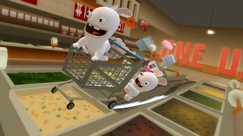 Rabbids Go Home: The Stripping Gets Your Attention