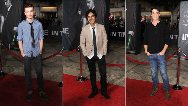 'In Time' Red Carpet Isn't Particularly Timeless