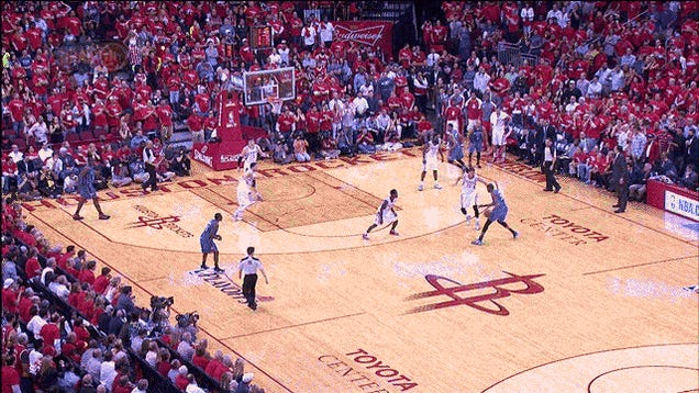 Kevin Durant Blew By Four Houston Defenders For A Vicious Dunk