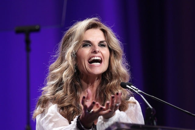 Maria Shriver Fights Back, with Oprah's Help