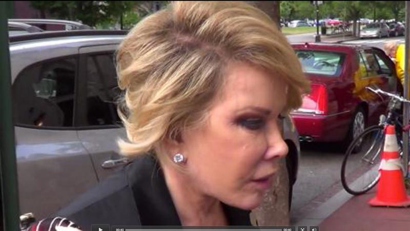 Joan Rivers Uses Trans Slur Against Michelle Obama (Video)