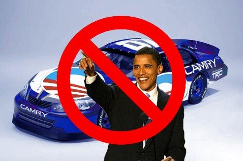 Obama Camp Nixes NASCAR Sponsorship Rumors