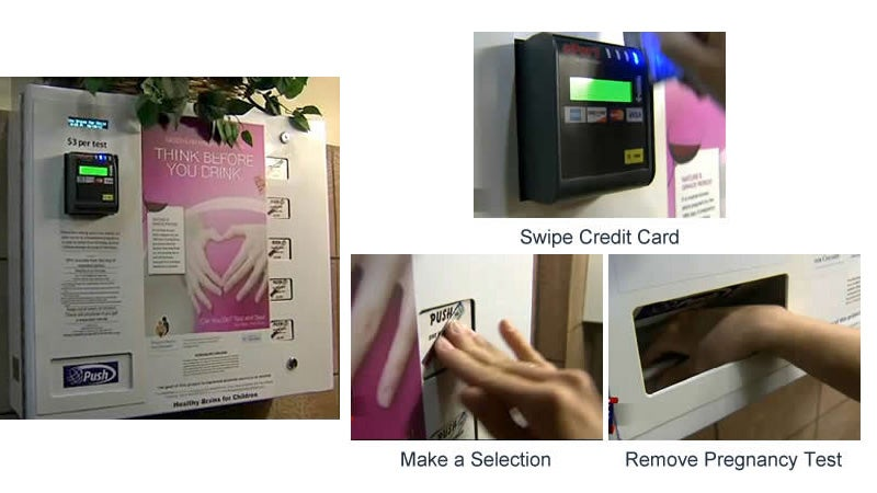 Bar Installs Pregnancy Test Dispenser, Makes Blind Dates Even More Awkward