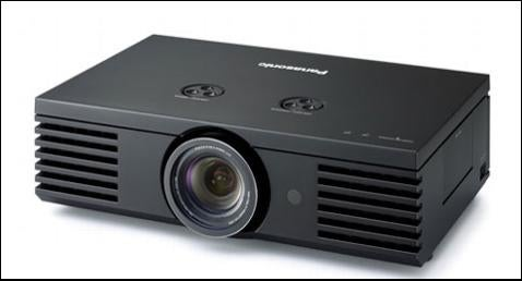 Panasonic Shoots for 1080p with PT-AE1000U Projector