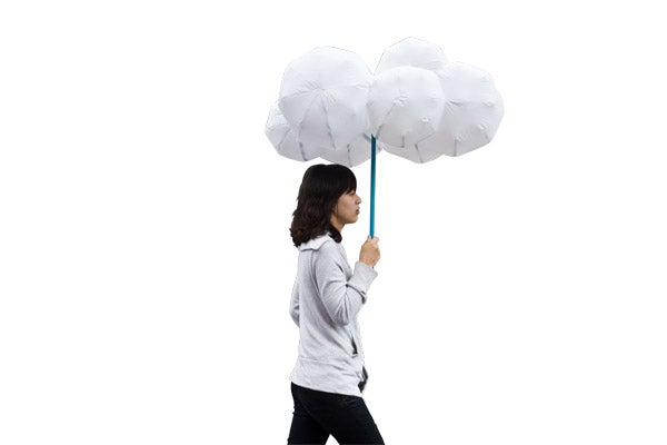 "Cloud Umbrella Leaves You High and Dry, And By ""Dry"" I Mean ""Wet"""