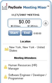 See the Real Cost of Meetings with Meeting Miser