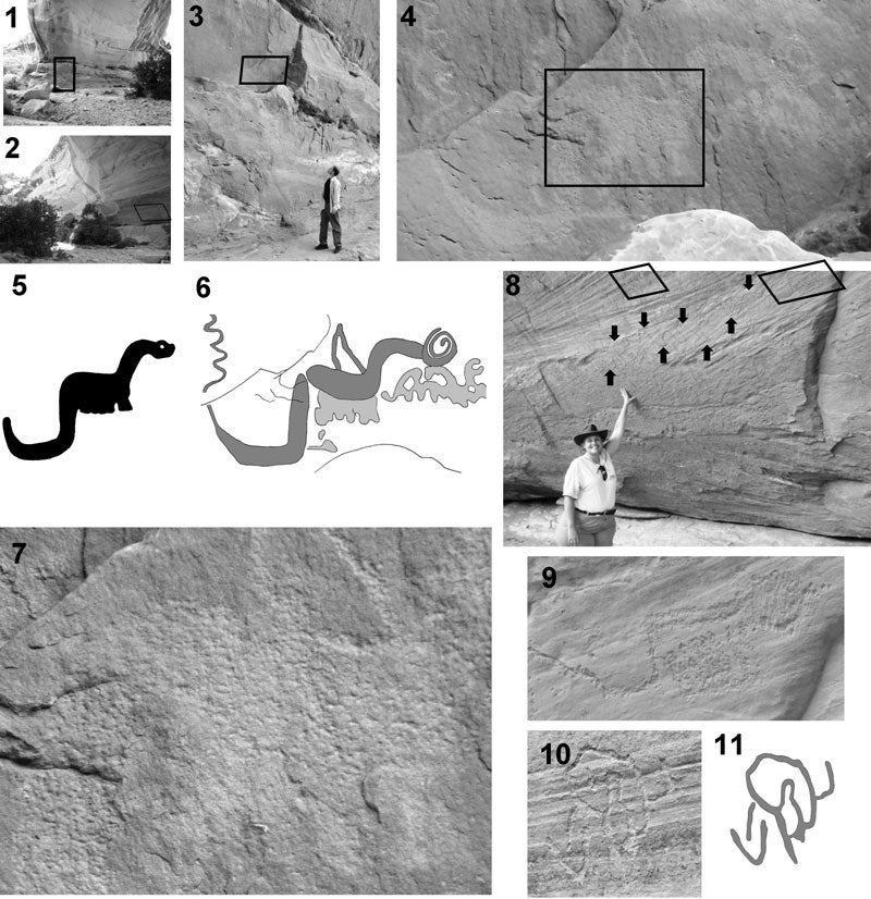 Creationists Find Cave Painting of Dinosaur