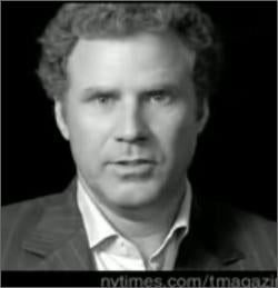 T Magazine Makes Will Ferrell Stop Clowning Around