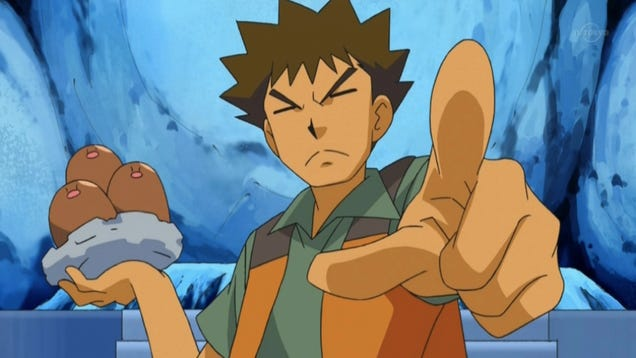 Brock from Pokémon Can Drive, Pilot, or Operate Almost ... Wailord And Diglett